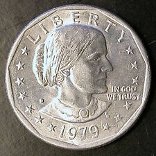 1979-D Susan B Anthony Dollar - MULTIPLE ERRORS - VERY RARE - $REDUCED PRICE
