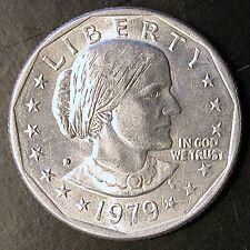1979-D Susan B Anthony Dollar - MULTIPLE ERRORS - VERY RARE - $NEW PRICE