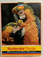 VINTAGE KODACOLOR CUDDLING MCCAWS 550 PC Jigsaw Puzzle New Sealed