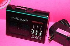 RARE Vintage RECHARGABLE MAGNAVOX Walkman Personal Cassette Player D-6668/17 USA
