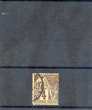 TAHITI, FORERUNNER YT48 1881 4c LIL BROWN/GREY, PAPEETE CDS, $200