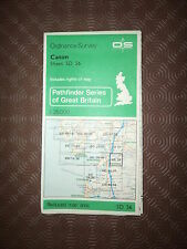 "Ordnance Survey Map 2.5"" map SD56 Caton 1982 Hornby, Halton, Carnforth, edge."