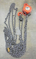 3 Ton CM Hand Chain Hoist 20' Lift 622 Series