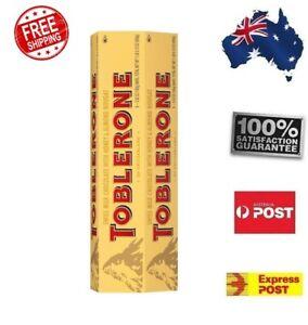 NEW 6 x 100g Toblerone Swiss Milk Chocolate Sweet Delicious Snack Pantry Block
