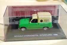 IXO RENAULT 4 F4 INTERFLORA 1966 1/43 NEUF en boite vitrine
