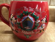 Disney Cruise Line Dcl Very Merrytime Christmas Holiday Mickey Minnie Coffee Mug