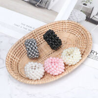Fashion Women Girls Pearl Scrunchie Ponytail Hair Rope Hair Bands Jewelry
