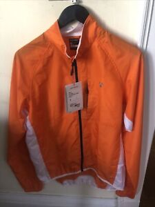 New-Old-Stock BONTRAGER Men's Race Windshell Jacket • Size Medium • Orange