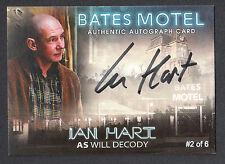 BATES MOTEL Breygent 2015 PARALLEL AUTOGRAPH CARD #AIH IAN HART 2 OF 6 SEASON 1