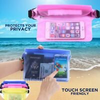 Waterproof Waist Pouch Bag Dry Underwater Case Cover New for iPhone Cell Phone