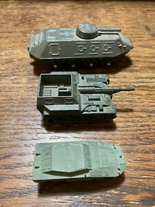 Russian military diecast vehicle lot 1/76 Scale BTR-40 And SU-76.  Plus a BTR-60