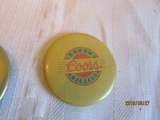 Vintage COORS magnets (3) collectables.  H2