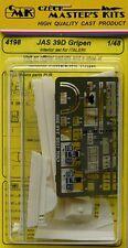 CMK 1/48 JAS 39D Gripen Interior Set for Italeri # 4198