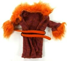 Groovy Girls Doll Clothes Purple & Orange Coat Sweater w/Orange Furry Trim Belt