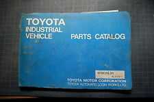 Heavy Equipment Manuals Books For Toyota Ebay. Toyota 5fgc28 5fgc30 Forklift Parts Manual Book Catalog Spare Industrial Vehicle. Toyota. Toyota Forklift 6hbe30 Wiring Diagram At Scoala.co