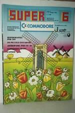 RIVISTA SUPER COMMODORE ANNO 2 NUMERO 6 GIUGNO 1985 USATA ED ITA FR1 54758