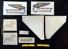 Ducati bevel single Mark3 complete bike kit decals  SALE PRICE- FREE SHIPPING