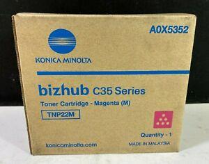 Konica Minolta TNP22M Magenta Toner Cartridge *FREE DELIVERY*