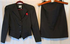 Shelly Michael's 7/8 Skirt Suit waist 26