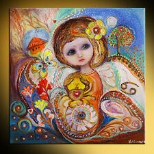 Fairies of Zodiac series: Cancer pop art fantasy painting best gift for girls