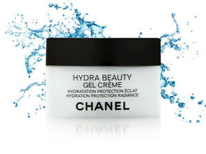 Chanel Hydra Beauty Gel Creme Hydration Protection Brightness 50 g. New & Sealed