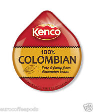48 x Tassimo Kenco Colombian Coffee T-disc (Sold Loose) 48 T-Discs/ Servings