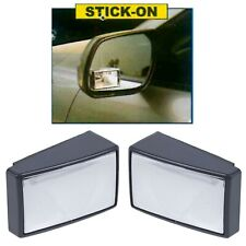 2 x Adjustable Car Blind Spot Wing Mirror Set Wide Angle Vehicle Motorway Safety