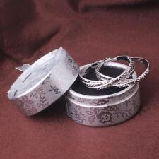 Women Vintage Celtic Silver Tone Hoop Earrings Cool Lady Girls Jewellery 40mm