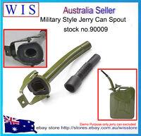 GRN Metal Jerry Can Spout Rubber Nozzle Fits Standard 5L 10L 20L Jerry Can-90009