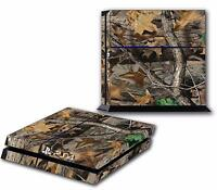 Camo Army Trees Leaves PS4 Skin Vinyl Decal PlayStation 4 Designer Sticker 213