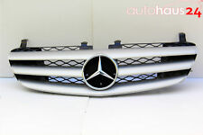 MERCEDES R-CLASS FRONT GRILLE ASSEMBLY SPORT R320 R350 R500 R63 SILVER GENUINE