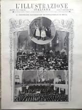L'Illustrazione Italiana del 25 Agosto 1907 Congresso Metz Cinema Jozsef Joachim