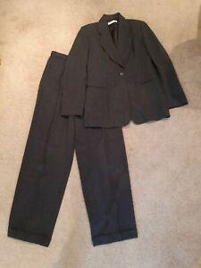 Ladies Sz 44 Italian Emporio Armani Suit