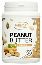 Erdnussbutter 1KG ohne Zucker ohne Palmöl 30% Protein Peanutbutter Wehle Sports