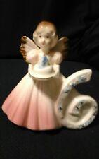 Vintage Josef Originals Birthday Angel girl Figurine Age 6 Six