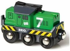 Brio FREIGHT BATTERY ENGINE Wooden Toy Train BN