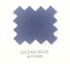 """Sunbrella Fabric 60"""" Wide Ocean Blue #4679  2 Yards"""