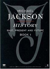 Michael Jackson HIStory RARE promo sticker '95