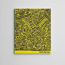 "16X20"" Gallery Art Canvas: Keith Haring Pop Graffiti NYC Street Culture American"