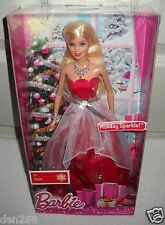 #9262 NRFB Mattel 2015 Holiday Sparkle Barbie Special Edition