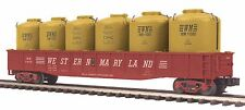20-98050 MTH Western Maryland (#5449) Gondola Car w/5 Cement LCL Containers