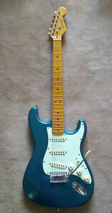 Richwood electric guitar, padded case and amplifier - immaculate condition