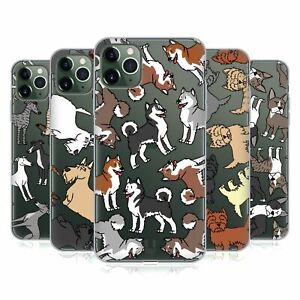 HEAD CASE DOG BREED PATTERNS 6 SOFT GEL CASE & WALLPAPER FOR APPLE iPHONE PHONES