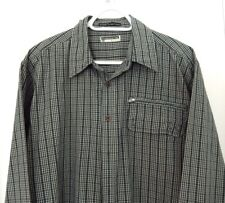 Freshjive Button Down Shirt-size L, stylish green plaid  NICE!