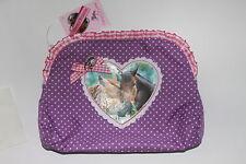 Ritter Rost Kinder  Börse Geldbeutel  pink lila  mit Reißverschluss 11 x 08
