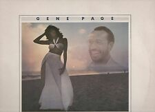 GENE PAGE disco LP 33 giri MADE in ITALY  Love starts after dark