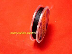 Fishing Rod / Ring / Eyes Whipping Thread 25 metre in  Black