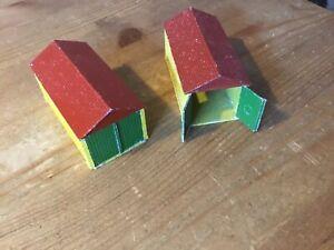 2 stk. Matchbox / Lesney Metall Garagen No.3