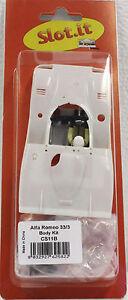Slot It SICS11B Alfa Romeo 33/3 Body Kit With Interior 1:32 Slot Car Part