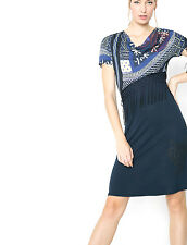 DESIGUAL robe taille L 40 * NOUVEAU * Vest Oli 61v21c9
